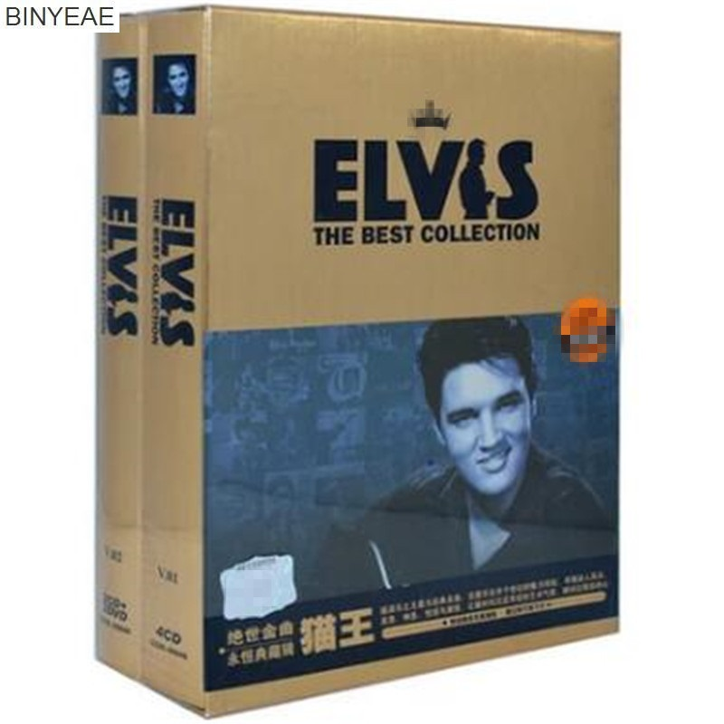 BINYEAE Real Music Cd Avril Lavigne Binyeae- New Cd Seal: Elvis Presley Hits - Eternal Collection 8 Light Disk [free Shipping] cd billie holiday the centennial collection