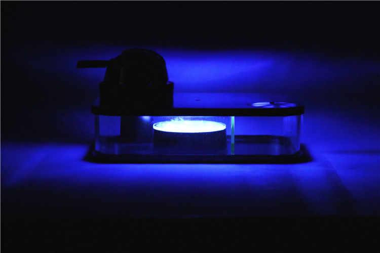 Арабский кальян набор с Светодиодная лампа портативная квадратная коробка акриловый модный кальян включает в себя кальян силиконовая миска силиконовые трубы подарки
