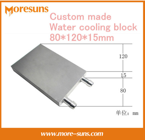 Free ship by DHL/EMS 5pcs/lot 80*120*15mm water block/Aluminum Water Cooling Block liquid cooling block radiator accessories brand new 1489 amclt35 with free dhl ems