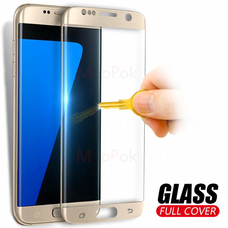 MooPok 9H Full Coverage Tempered Glass On The For Samsung Galaxy S7 S6 Edge Screen Protector Film For Samsung S6 S7 Edge GlassMooPok 9H Full Coverage Tempered Glass On The For Samsung Galaxy S7 S6 Edge Screen Protector Film For Samsung S6 S7 Edge Glass