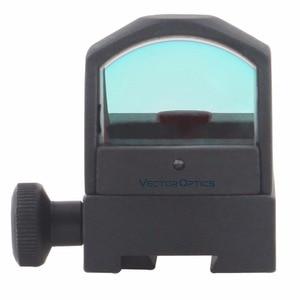 Image 2 - Векторная Оптика Микро рефлекторный охотничий красный точечный прицел с 3 МОА точечный мини пистолет прицел подходит 21 мм Вивер или 11 мм ласточкин хвост