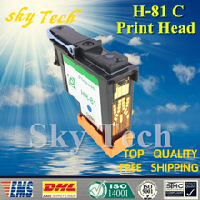 One Piece Cyan Remanufactured Print Head  For HP81 C ,  For Hp DesignJet 5000 5500 printer .