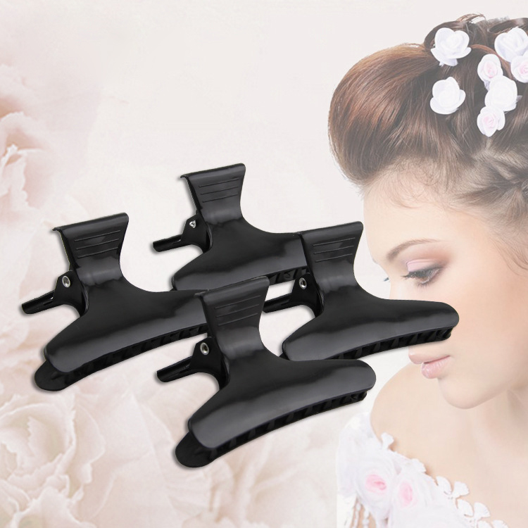 Women Beauty Styling Tools Hair Clips Claw Section Butterfly Hairpins