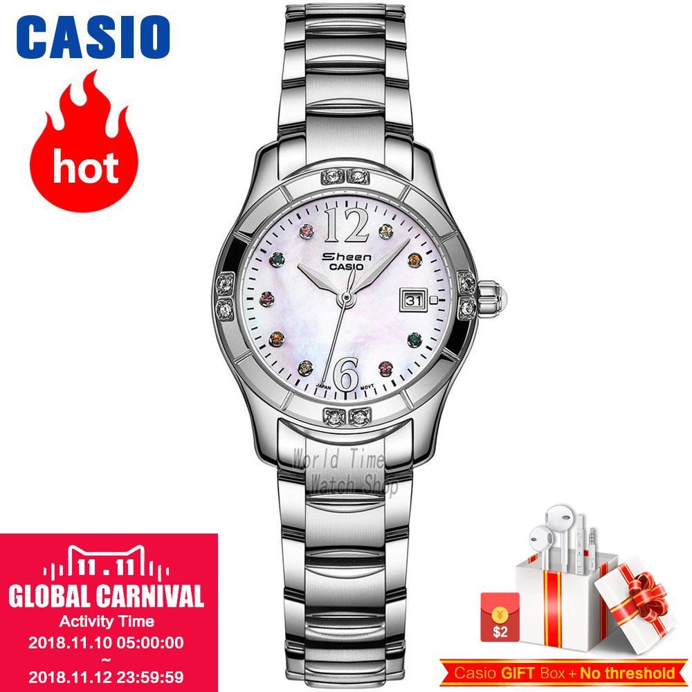 Casio watch Casual business waterproof quartz ladies watch SHN-4019DP-4A SHN-4019DP-7A SHN-4019LP-7A газовая колонка zerten s 20