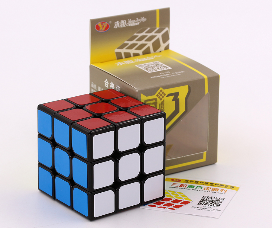 Puzzle Magic Cube YongJun YJ GuanLong plusV3 3x3x3 3*3*3 professional competition speed cube educational easy logic game toys Z image