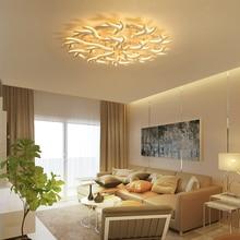 Antlers Acrylic Chandelier lighting Creative Modern led chandelier For livingroom Nordic Aluminum lustre moderno lampadari
