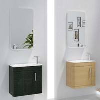 600mm Bathroom furniture Blum Soft Close Top Solid Surface Vanity Cloakroom Wall Hung Cabinet 2063