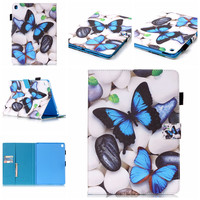 Cover For Apple IPad Pro 9 7 Inch Case Fashion Pattern PU Leather Flip Stand Cases