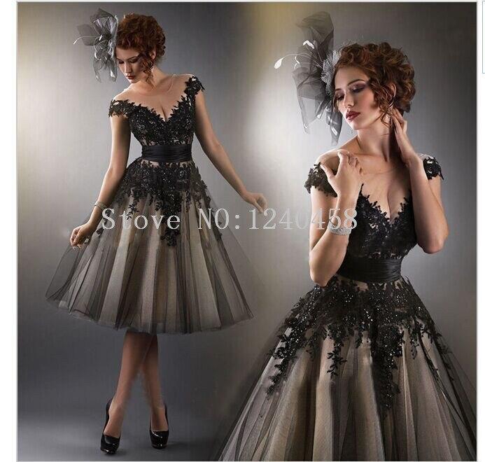 Black Cocktail Dresses for Prom