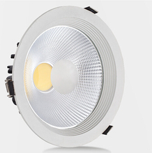 Free Shipping Dimmable 10W 15W COB LED Downlights Tiltable Fixture Recessed Ceiling Down Lights Lamp Warm-Cool-Natural White