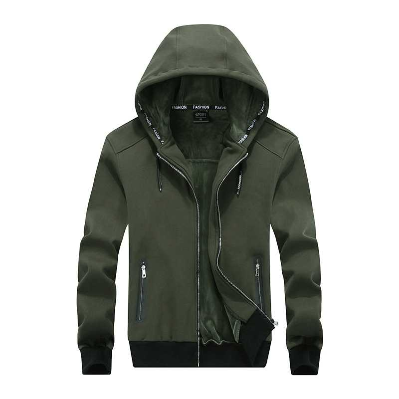 f45ba037339 ... New winter hooded men with thickening cashmere warm hoodie fleece big  Size 8XL men s oversized Plus ...