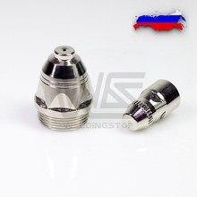 P80 P-80 Electrode Nozzle Tips Plasma Cutting Torch Consumables 20pcs Optional set Russian Stock W.S Genuine Parts 220352 electrode 200a for plasma cutting consumables 20pcs per lot