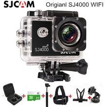 Оригинал SJ4000 WIFI SJCAM Видеокамера Действий Камеры FHD 1080 P Спорта Камеры 30 М Водонепроницаемый Открытый Мини-Камера Действий Шлем SJCAM
