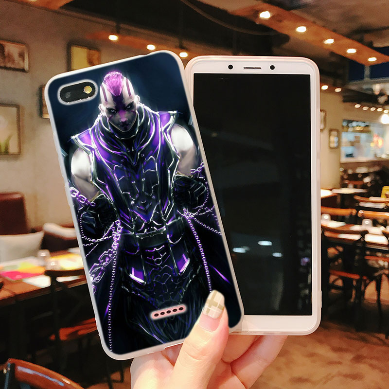 Silicone Phone Case Dota 2 Role Fashion Printing for Xiaomi Mi 6 8 9 SE A1 5X A2 6X Mix 3 Play F1 Pro 8 Lite Cover in Fitted Cases from Cellphones Telecommunications