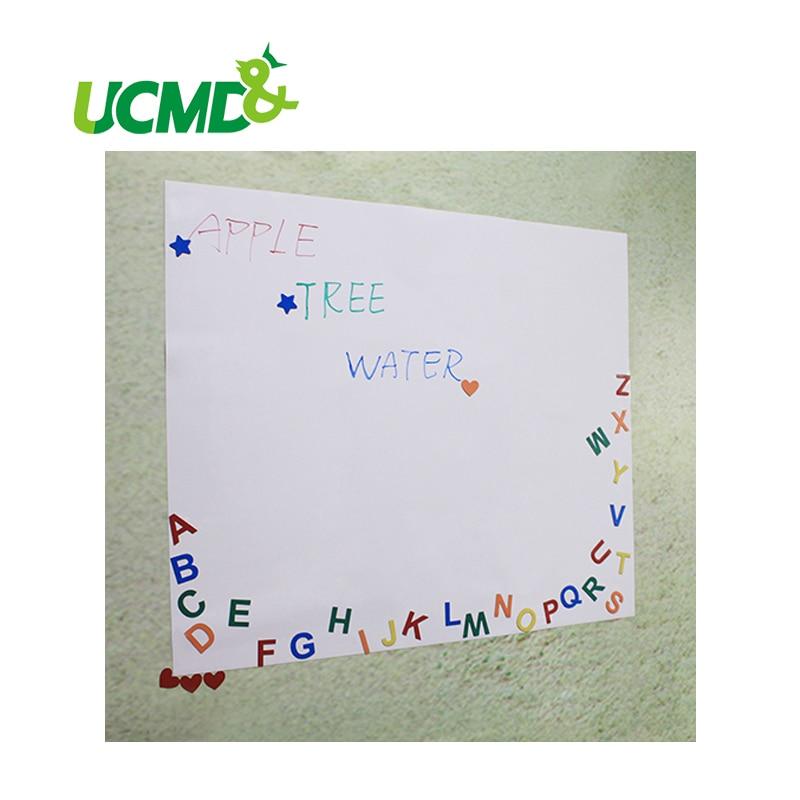 все цены на  Factory Direct Sale Flexible Writing Board Magnetic Whiteboard Sticker for Ferrous Matel Surface 150 cm X 100 cm x 0.3 mm thick  онлайн