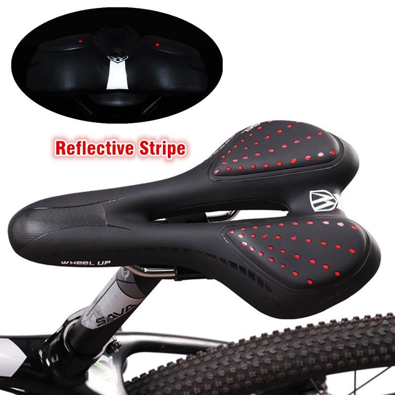 Bicycle Saddle 3K Carbon Fixed Gear MTB Road Racing Bike Seat Ultralight