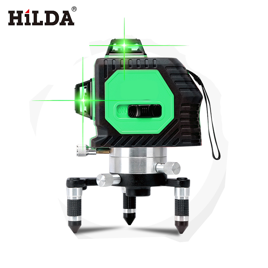 12Lines 3D 93T Laser Level Self-Leveling 360 Horizontal And Vertical Cross Super Powerful Laser Beam Line Green Color Random