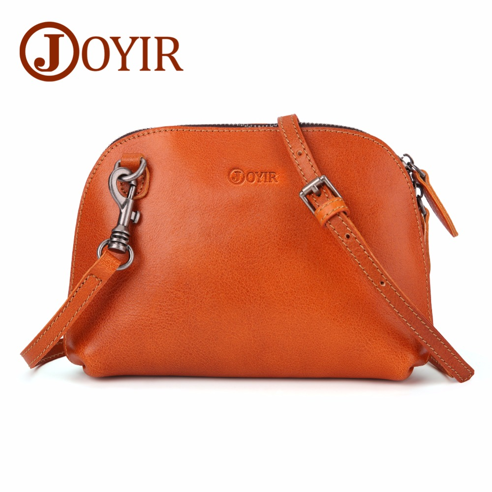 JOYIR Genuine Leather Shoulder Bags Women Retro Bag Female Vintage Crossbody Bag for Women 2018 Bolsa Feminina Messenger Bags kzni genuine leather bag female women messenger bags women handbags tassel crossbody day clutches bolsa feminina sac femme 1416