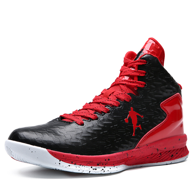 9bf96ffde015b Men Women Sport Sneakers Basketball Boots Red White Men Sport Trainers High  Top Girls Basketball Shoes Cheap