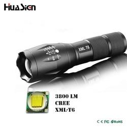 Ultra bright 5 mode cree xml t6 3800lm zoomable led flashlight waterproof torch lights bike light.jpg 250x250