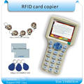 English ver 10 styles  RFID  Card Read- Writer/ RFID Copier/Programmer  copy encrypted to 0 Sector+30pcs Rewritable KeyFob