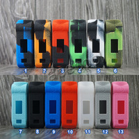 5pcs Silicone case for Voopoo MOJO 88W 2600mAh rubber Cover Skin Warp Sticker Sleeve shell hull mod shield Electronic Cigarette