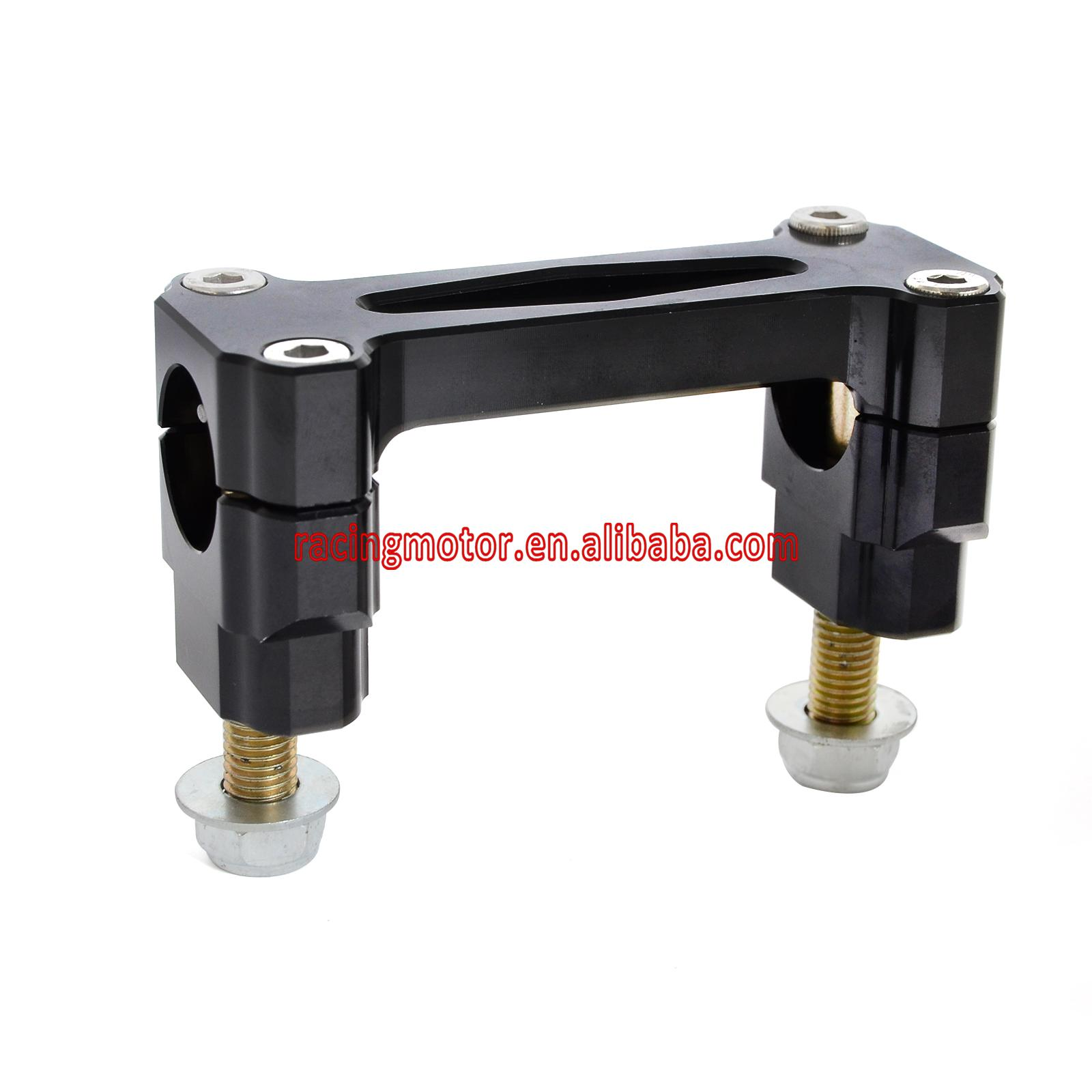 Bar Risers Mounts Handlebar Clamp Kit for Honda CR125R CR250R 00-07 CRF250R CRF250X 04-16 CRF450R 02-16 CRF450X 05-16