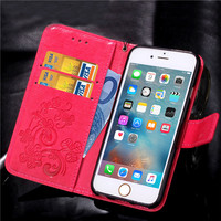 case iphone 5 Leather Phone Case Wallet Cover For iPhone 5 5S SE 6 6S Plus 7 8 Plus Shell Capa Flip Stand Book For iPhone X XS Max XR Cover (5)