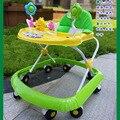 2016 nuevo estilo de grandes ruedas plegable bebé cochecito andador