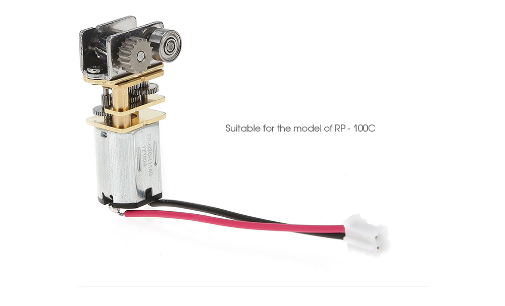 RP-100B 3D pen stampa estrusore 12 V 100 RPM Mini DC Metal Gear Motore con ruota dentata