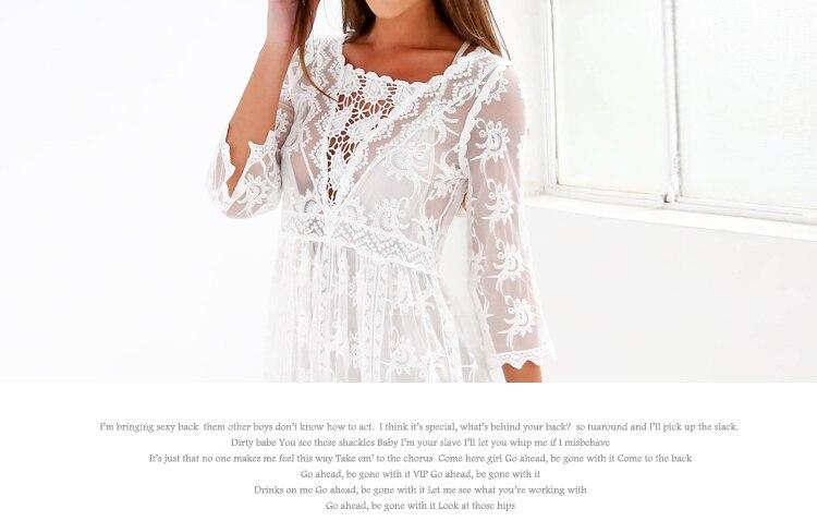 HTB1ObIfRpXXXXXkaXXXq6xXFXXXG - FREE SHIPPING Woman Embroidered Lace Cover Ups JKP2666