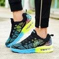 2017 de Alta Calidad de Los Hombres Zapatos unisex lovers Causal zapatos Planos de Los Hombres de Moda Zapatos Planos de Los Hombres Entrenadores Transpirable Luz Suave Women609