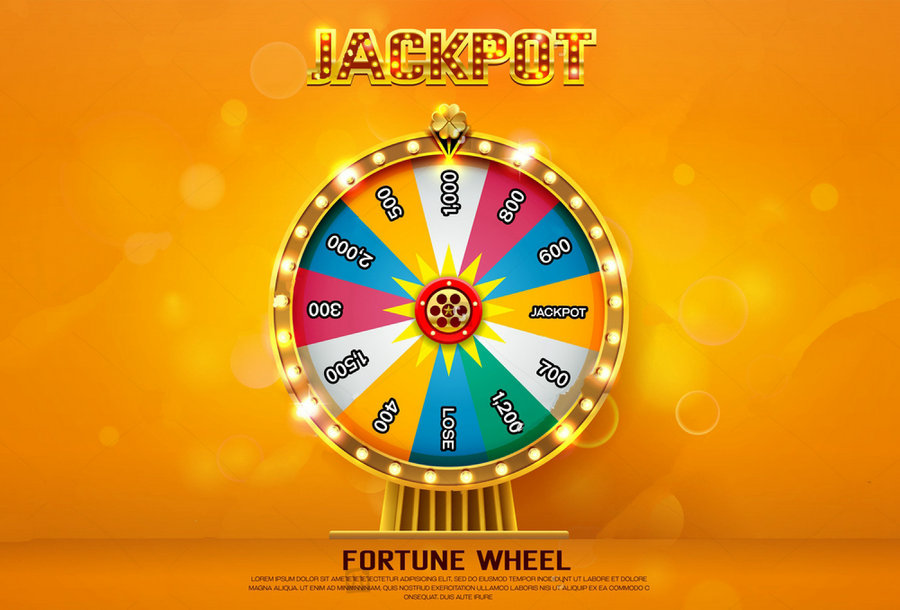 Fortune Wheel Spinning photo studio background Vinyl cloth High quality Computer print w ...