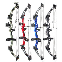 New Aluminum Alloy composite anti curved bow and arrow for human outdoor hunting,