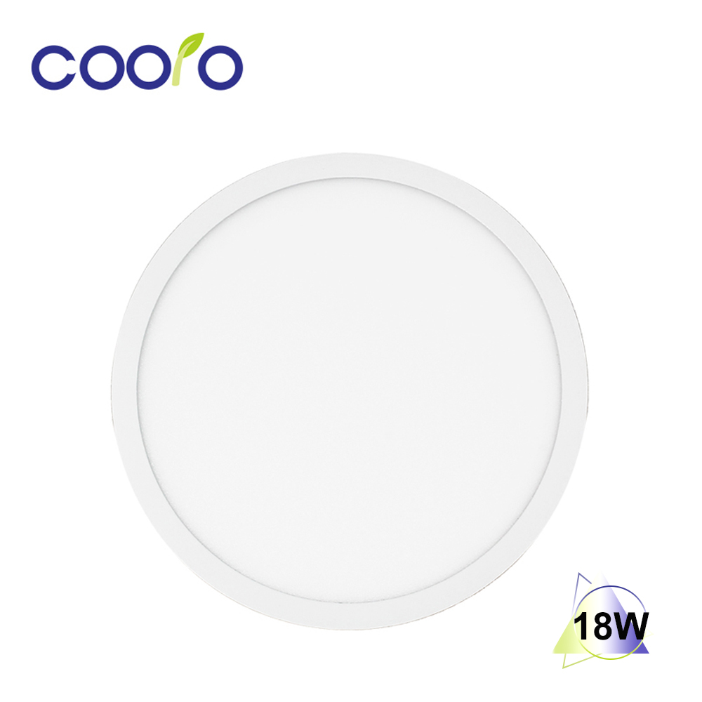 18W LED Panel <font><b>Light</b></font> Round Ultra Thin Downlight AC 85V-265V LED Ceiling Recessed <font><b>Light</b></font> Indoor <font><b>Light</b></font>