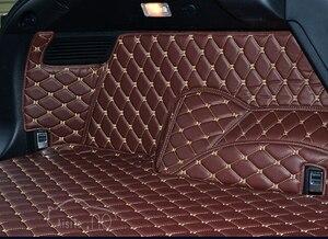 Image 4 - 새로운 lexus rx450h 2016 용 고품질 매트 특수 자동차 트렁크 매트 rx 450h 2017 용 내구성 방수 카펫 라이너