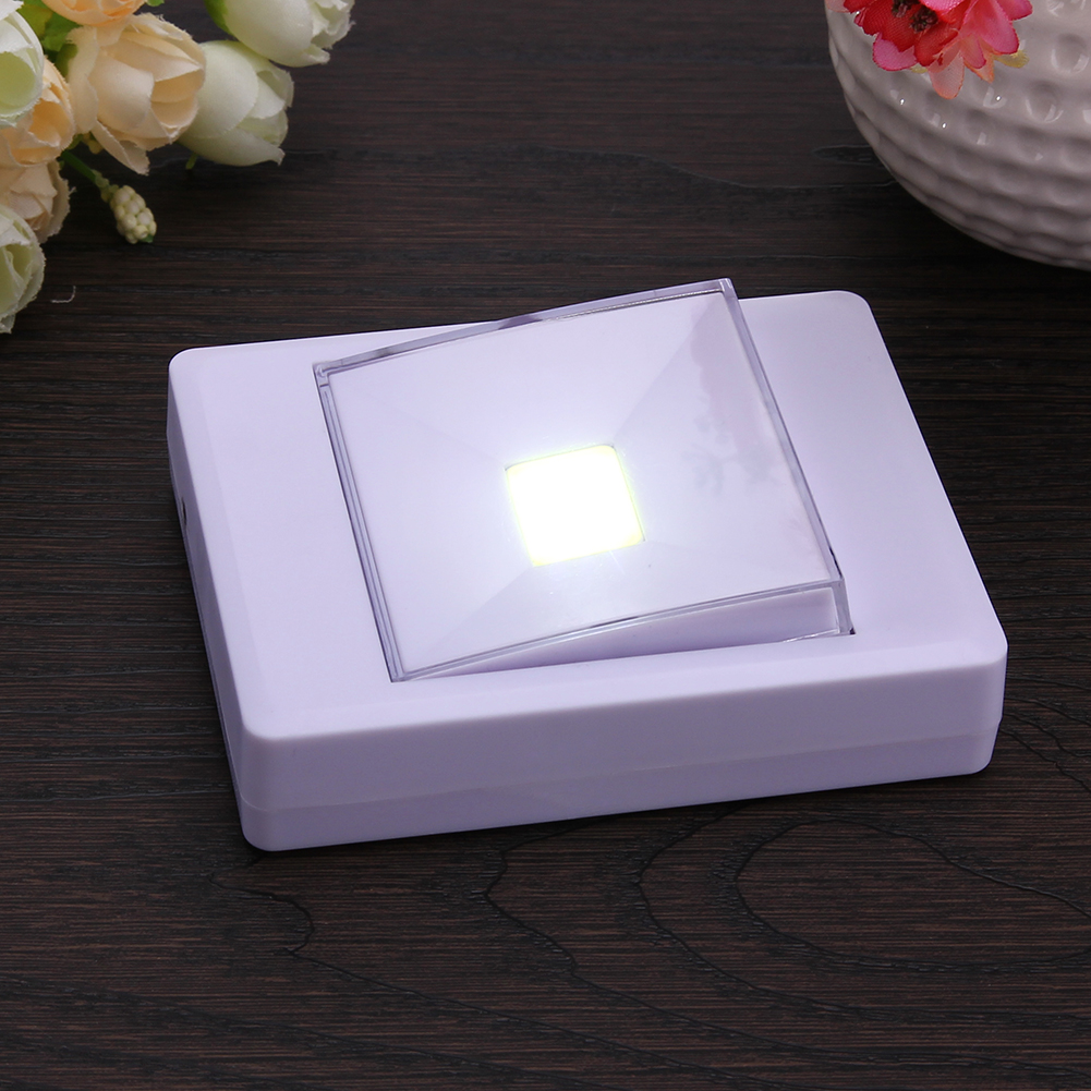 Mini COB LED Cordless Lamp Home Use Indoor Magnetic Wall Light Night Light Kitchen Wardrobe Closet Cabinet Emergency Light
