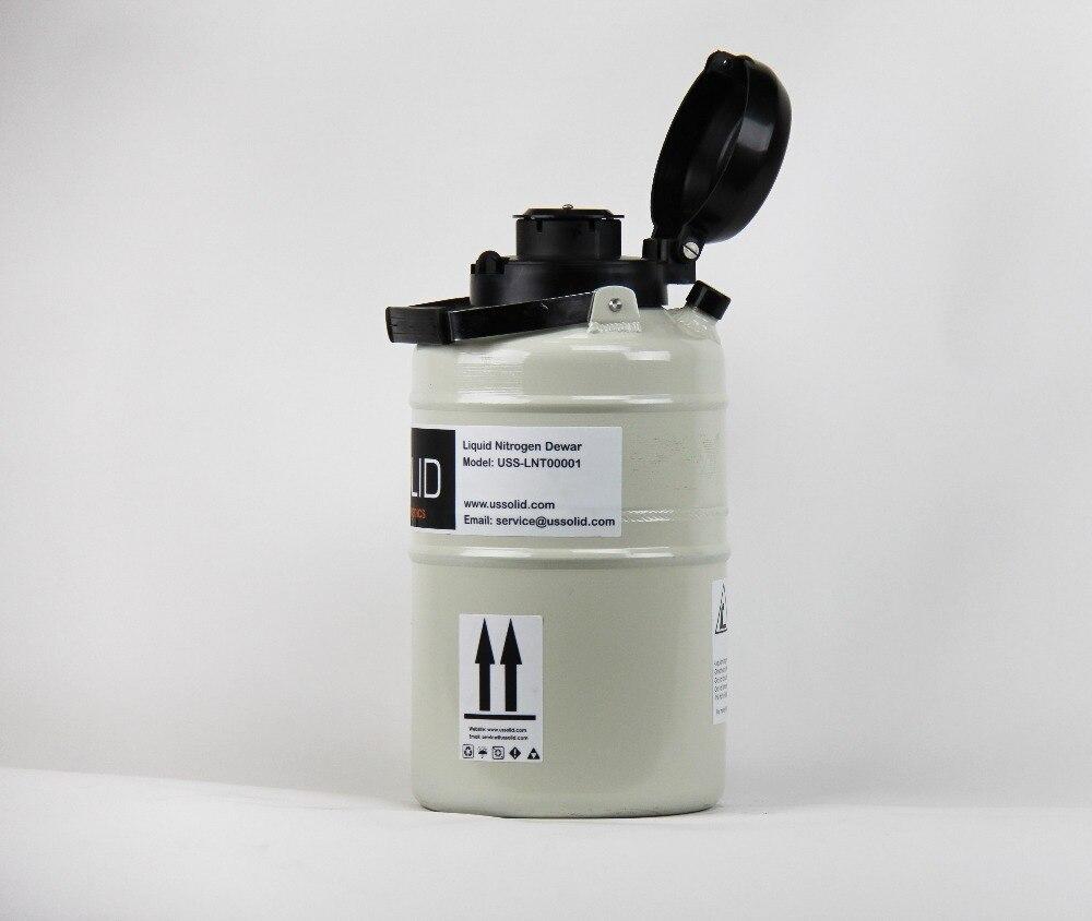 Szilárd 3 l folyékony nitrogén spermium spermatartály, kriogén - Elektromos szerszám kiegészítők - Fénykép 2