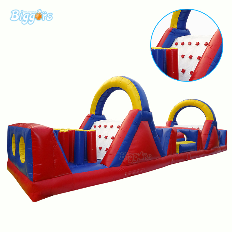 Playground Inflatable Obstacle Course For Outdoor Sport Games Inflatable Obstacle Course Bounce House With Blowers full rotation 15 27 dual screen monitor holder lcd tv mount desktop stand base s031