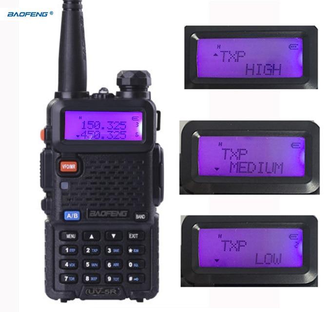 UV-5R высокой мощности Версия ацетонитрил питания Baofeng 8 Вт для двухстороннее радио УКВ Двухдиапазонный портативный Радиоприемник портативная рация Baofeng УФ 5R