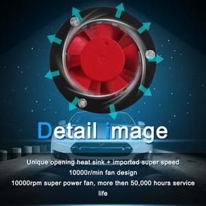 Image 5 - Светодиодный H7 H4 H8 H9 H11 9005 HB3 9006 HB4 светодиодный фар автомобиля света COB фишки яркие Автомобильная фара 8000LM 12 V 80 W 6000 K