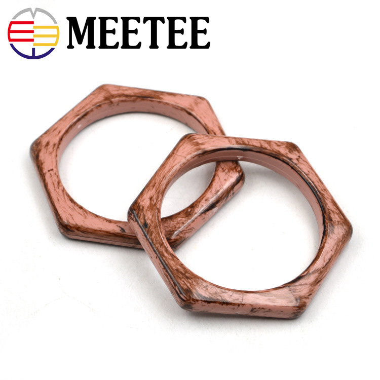 Arts,crafts & Sewing 2pcs O Ring Bag Handles For Crochet Obag Resin Buckles For Handbag Wallet Purse Frame Clasp Diy Bag Hanger Accessories Ky958 Latest Fashion
