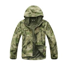 Outdoor Sport Camping Hiking Men Coat Tactical Hunting Windbreaker Waterproof Camo Jacket  SoftShell Camouflage Clothes