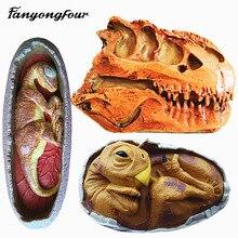 Маленький динозавр, силиконовая форма для торта, форма для шоколада, гипсовая свеча, мыло, конфета, форма для выпечки, кухня