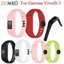 цена на Bracelet For Garmin Vivofit 3 Band Replacement Wristband Strap Accessory Silicone Watch Strap for Garmin Vivofit 3 Watch Band