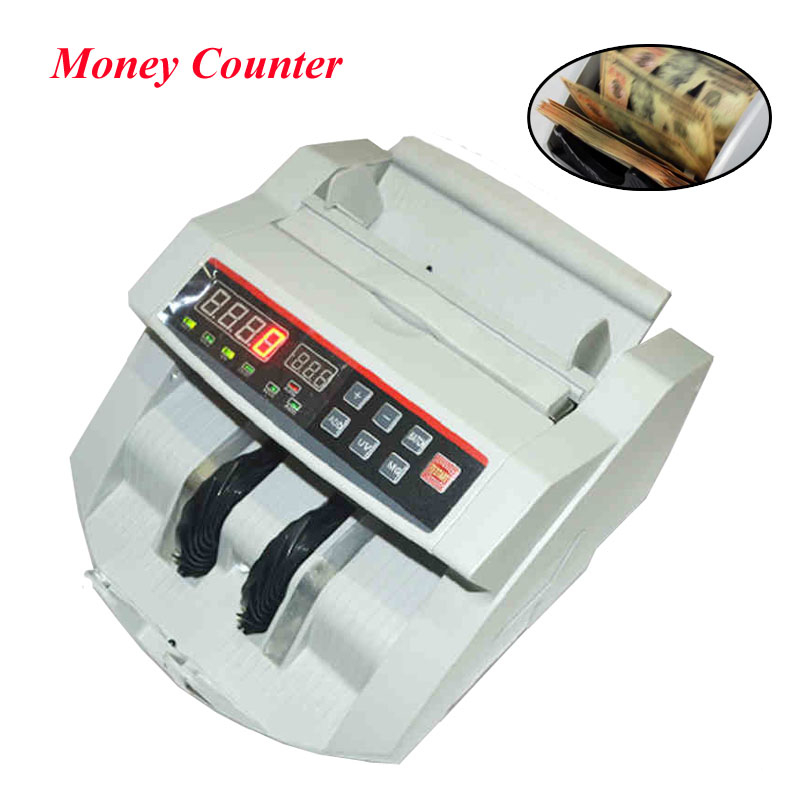 Bill Counter 110V/ 220V Money Counter Suitable for EURO US DOLLAR etc. Multi-Currency Compatible Cash Counting Machine цена