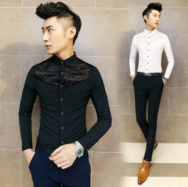 Popular Mens Lace Shirt Buy Cheap Mens Lace Shirt Lots