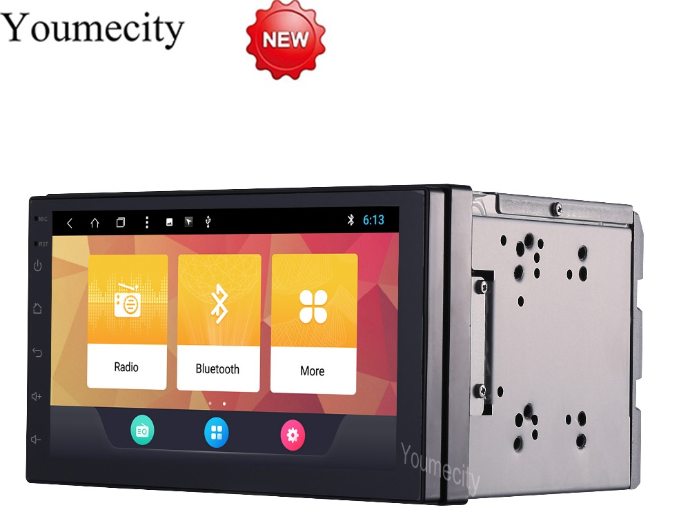 7 2Din 1024 600 Android 8 1 Car Tap PC Tablet 2 din Universal For Nissan