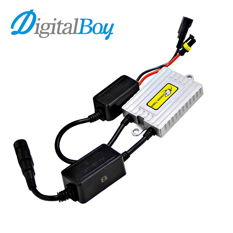 New 1 Pc 55W HID XENON Ballast Canbus Quick Start Smart Ballast No Error for Bulbs H1 H3 H4 H7 HB3 H11 9006 881 for BMW for Benz cnsunnylight 38w xenon hid kit canbus quick start bright smart ballast all colors 4300k 6000k replacement bulb h1 h3 h4 h7 h11