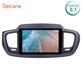Seicane Car Radio Wifi GPS Navigation System For 2015 KIA SORENTO 10.1 inch Android 8.1 2Din 1024*600 Video Multimedia Player image